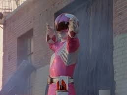 Katherine Morphed As The سیکنڈ MM گلابی Ranger