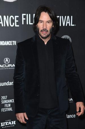 Keanu @ Sundance Premiere of 'To the Bone'