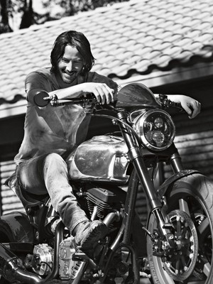 Keanu for Esquire