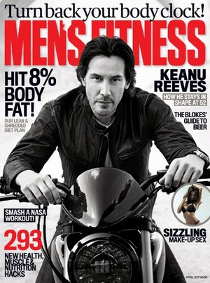 Keanu in Australia Men's Fitness April 2017