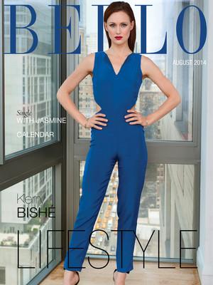 Kerry Bishe BELLO Magazine Aug. 2014