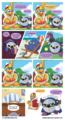 King Dedede and Metaknight