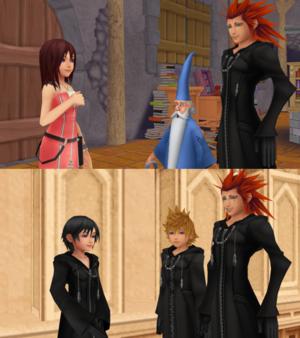 Kingdom Hearts III Kairi s Message and Xion s Wish.