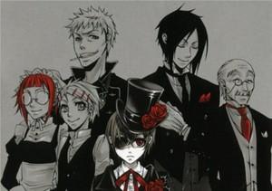 Kuroshitsuji Phantomhive Residents