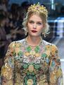 Lady Kitty Spencer Dolce Gabbana Milan