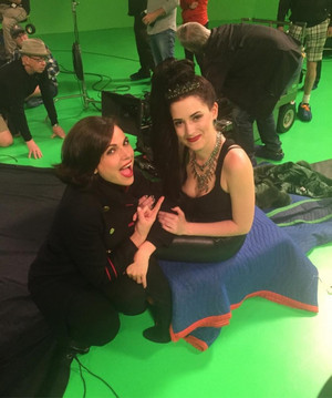 Lana and Stunt Double