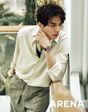 Lee Dong Wook for 'Arena Homme Plus'