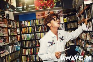 Lee Jun Ki -Kwave Magazine December Issue '16