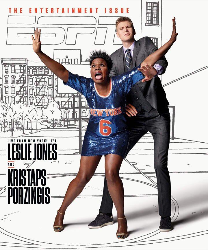 Leslie Jones - ESPN Cover - February