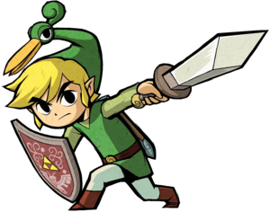 Link And The Minish Cap
