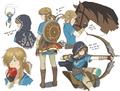 Link - the-legend-of-zelda fan art