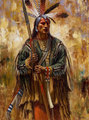 Manden War Leader by James Ayers