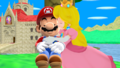 Mario x Princess peach, pichi MMD My True Hero