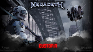 Megadeth dystopia mur
