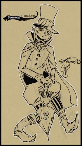 AquaMarine6663 Hintergrund entitled Mephisto Drawing