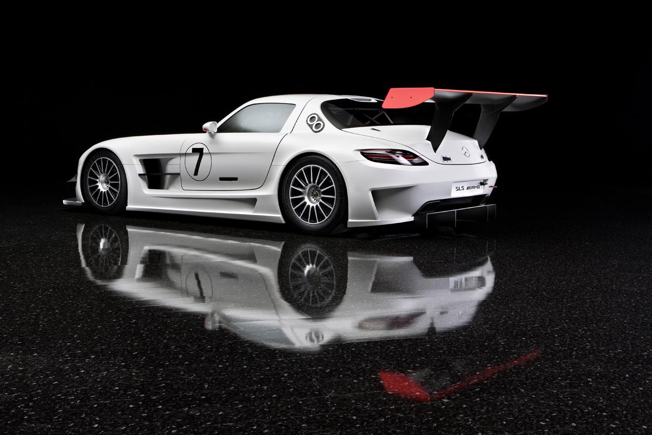 Mercedes-Benz SLS AMG (White)