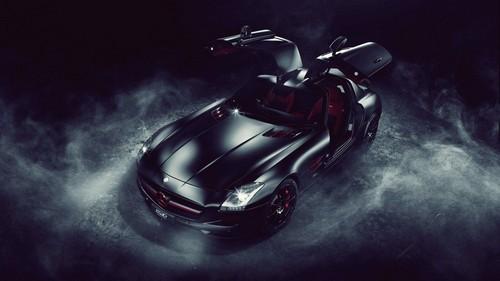 Mercedes Benz Wallpaper Titled SLS AMG