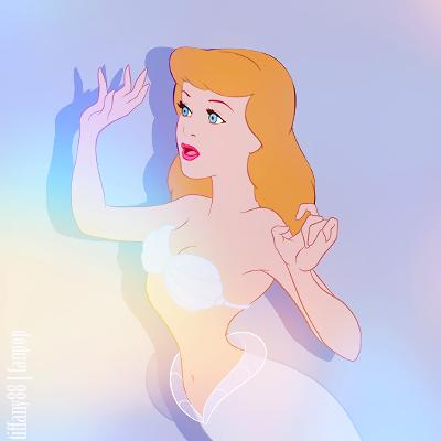 डिज़्नी प्रिन्सेस वॉलपेपर entitled Mermaid Princess ~ सिंडरेला