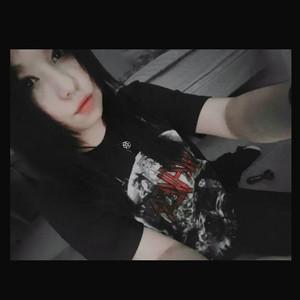 Metalhead girl