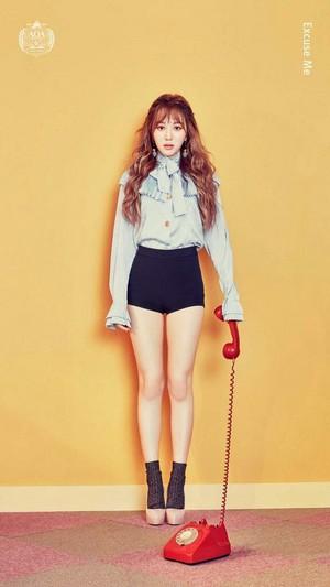 "Mina - ""Excuse Me"" Concept"