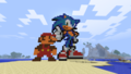 Minecraft Mario And Sonic - sonic-the-hedgehog photo