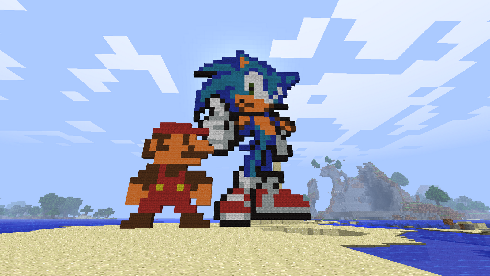 Minecraft Mario And Sonic - Sonic the Hedgehog foto (40252462) - Fanpop