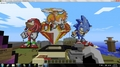 Minecraft Sonic Tails And Knuckles - sonic-the-hedgehog photo