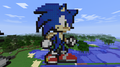 Minecraft Sonic - sonic-the-hedgehog photo