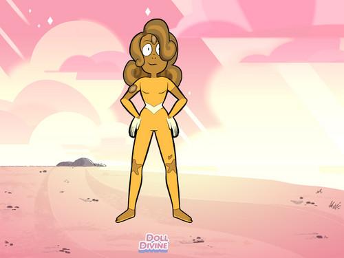 Steven Universe hình nền called Moss Opal