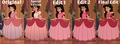 My Evolution of Melody's Pink Ballgown