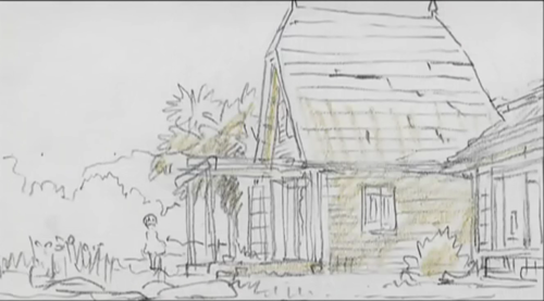 My Neighbor Totoro fond d'écran called My Neighbor Totoro Storyboard Comparison