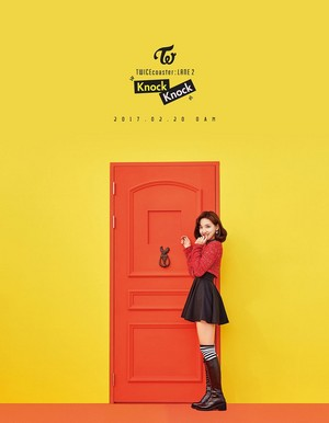 "Nayeon's Individual Teaser Image for ""Knock Knock''"