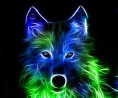 Neon 늑대