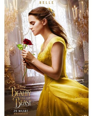 New Dutch poster of Emma Watson for 'Beauty and the Beast'