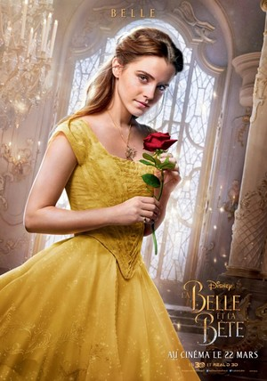 New French poster of Belle