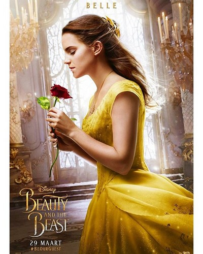 Beauty And The Beast 2017 Wallpaper Called New Poster Of
