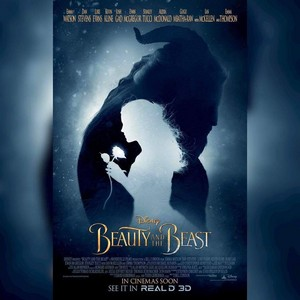 New Poster of 'Beauty and the Beast'