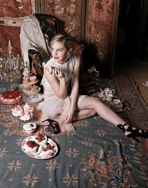 New outtakes of Emma Watson par Lorenzo Agius in 2009
