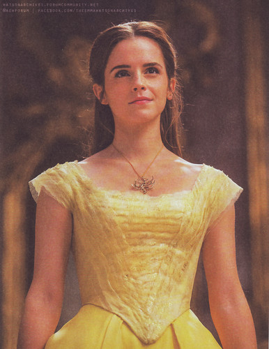 Beauty and the Beast (2017) achtergrond entitled New pic of Emma Watson in 'Beauty and the Beast'