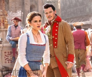 New pictures of Beauty and the Beast