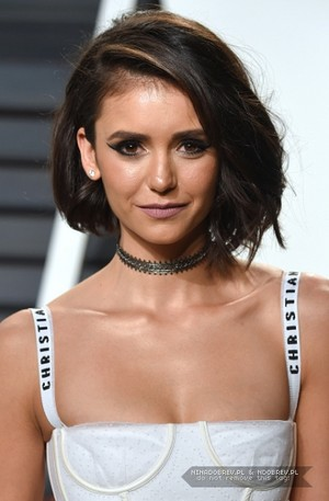 Nina Dobrev at Vanity Fair Oscar Party