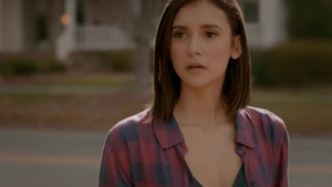 Nina Dobrev in The Vampire Diaries 8.16 ''I was feeling Epic''