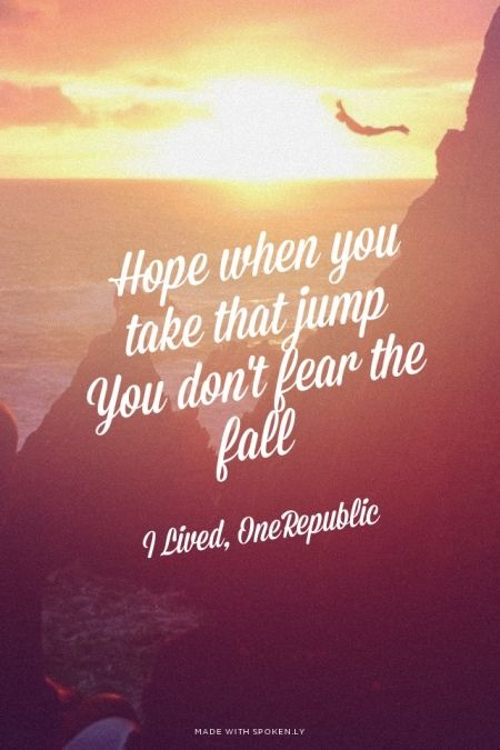 OneRepublic Quote