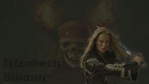 POTC fondo de pantalla - Elizabeth Swann