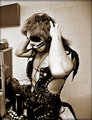 Peter ~Terre Haute, Indiana...November 21, 1975 - kiss photo