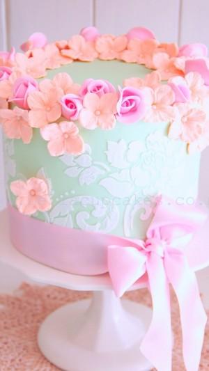 màu hồng, hồng Desserts