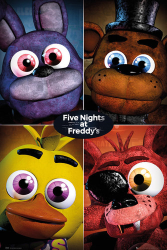 five nights at freddy's fondo de pantalla entitled Poster Five Nights at Freddy s Poster Five Nights at Freddy s 227276 s