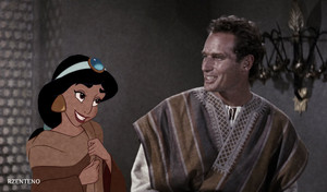 Princess jasmim And Prince Ben Hur