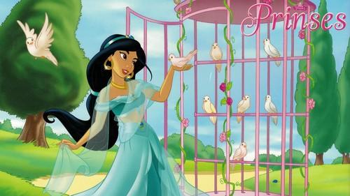 迪士尼公主 壁纸 called Princess 茉莉, 茉莉花