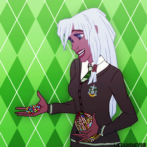 Princess Kida in Slytherin House
